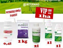 Dokarmianie dolistne kukurydzy INTERMAG Pakiet VIP 1ha Bez Siarczanu Magnezu