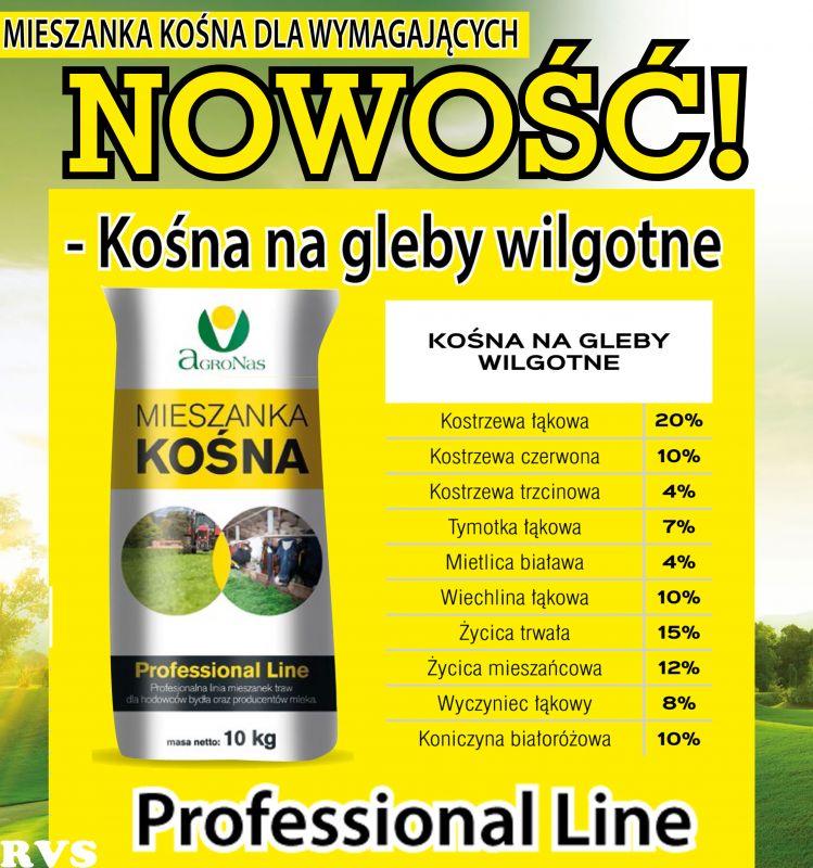 Nasiona Traw Mieszanka Kośna na gleby  wilgotne  10kg